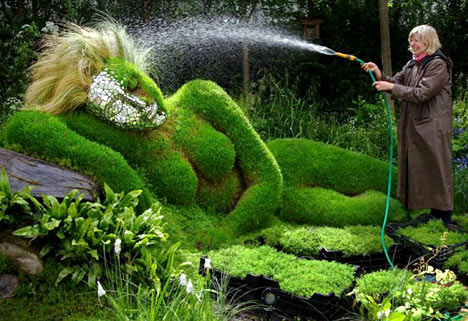 Hot Summer Weather Protection For Your Veggies Green
