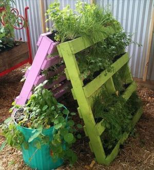 Pallet Garden A-Frame