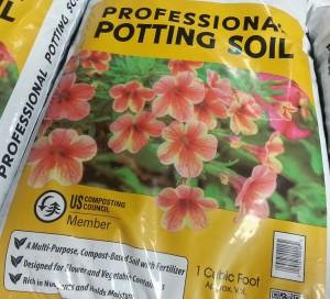 Pallet Garden Potting Soil