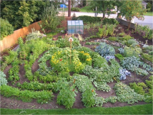 Garden Design, Labyrinth - Pastor Craig Goodwin author Year of Plenty, Spokane WA