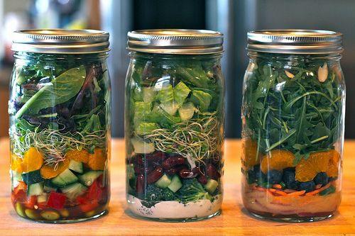 Super delicious nutritious Mason Jar meals!