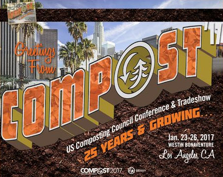USCC Compost Conference January 2017 Los Angeles