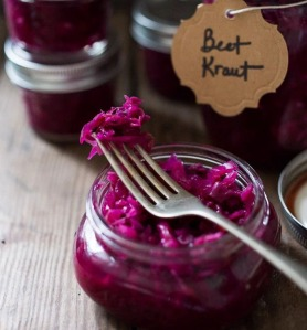 Fermented Beet Kraut