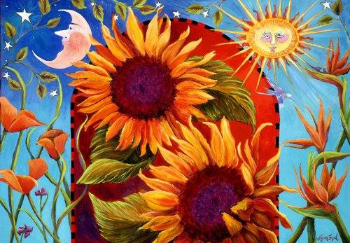 Summer Solstice 2016 Santa Barbara CA by artist Lynn Fogel