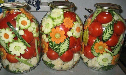 Pickling Vegetables Artistic Ornamental Russian Style AvantGardens