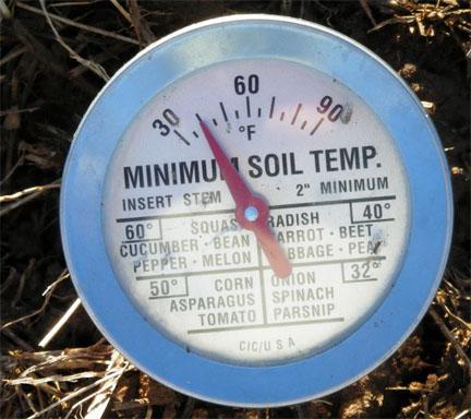 Soil Temperature Thermometer
