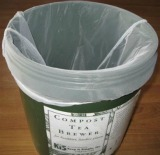 Compost Tea Bucket Straining Painter's Mesh Bag
