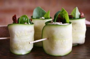 Delicious Healthy Recipe Zucchini Rolls