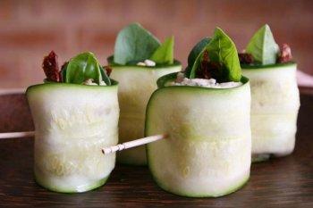 Delicious Healthy Recipe Zucchini Rolls