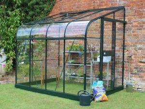 Greenhouse Energy Efficient Attached Lean To