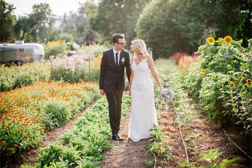 June Garden Wedding Lyons Farmette CO