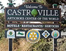 Artichoke Center of the World Castro CA WP