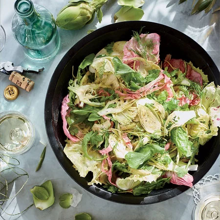Artichoke Shaved Salad Chef Sarah Grueneberg John Kernick
