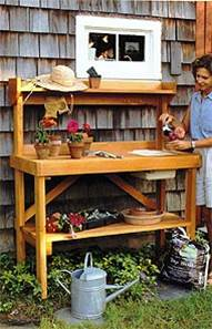 Terrific Vertical WorkStation to tend your Container Garden properly!